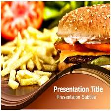 Amazon Com Fast Food Powerpoint Templates Fast Food Powerpoint Fast Food Ppt