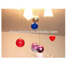 romantic design christmas decorations ball transparent can open