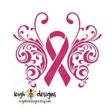 butterfly awareness ribbon decal cancer survivor vinyl car