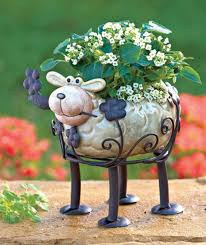 animal planter animal ceramic planters images