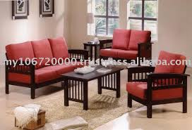 Furniture Set For Living Room by Enchanting Wooden Sofa Sets For Living Room Simple Living Room