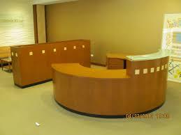 Reception Office Desks by Reception Desk Round Executive Liquidation U2013 Quality Used Office