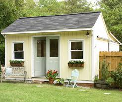 Shed Backyard A Comfy Cottage Makeover With Vintage Style Play Houses