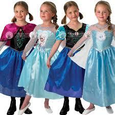 Anna Costume Genuine Licensed Disney Frozen Anna Elsa Classic Princess Fancy