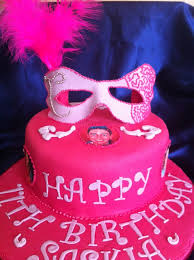 63 best sweet 16 images on pinterest masquerade cakes
