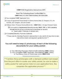 ommp application instructions oregon medical marijuana program