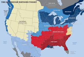 2016 Election Map by Washington Monthly The American Nations And The 2016 Election