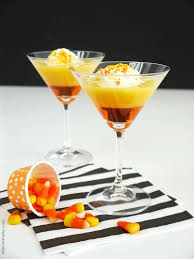 candy corn halloween cocktail video recipe party ideas party