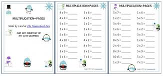 multiplication worksheets free winter themed multiplication worksheets free homeschool deals