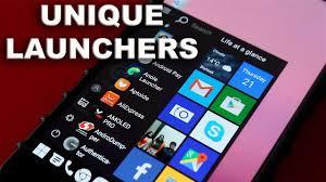 4 unique android launchers 2017 ll teluguworldin youtube