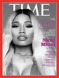 nicki minaj for time s 100 most influential people issue nah