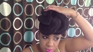 2 effortless natural hairstyles using braiding hair youtube