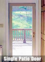 Single Patio Door Patio Doors Sliding And Hinged Styles Dfw Siding Patio 972
