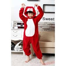 Sweet Fox Halloween Costume U0026 Kids Fox Kigurumi Onesies Pajamas Fox Kigurumi