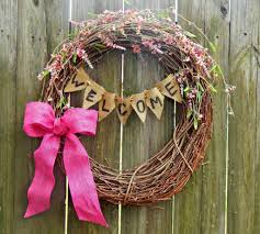 diy spring wreath this ole mom