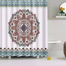 Hippie Curtains Paisley Moroccan Shower Curtains Ebay