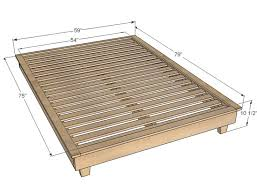 Twin Platform Bed Plans Storage by Best 25 Full Size Platform Bed Ideas On Pinterest Bed Frame Diy
