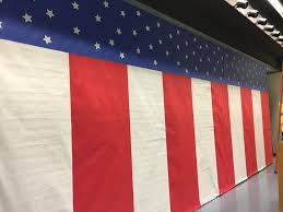 Hanging American Flag Vertically Honoring Those Who Serve Veterans Day Sweet Sounds