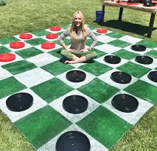 diy lawn checkers lilyshop by jessie daye