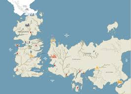 Map Of Essos Valar Morghulis An Illustrated Guide To All 1 243 Deaths In U201cgame