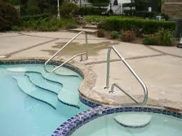 Swimming Pool Handrails Caulking U0026 Tile Repair For Inground Pools