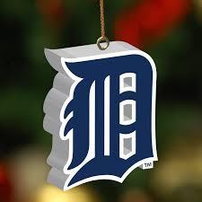 detroit tigers 3d logo ornament
