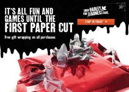 harley davidson wrapping paper gift wrapping with purchase harley davidson of dallas