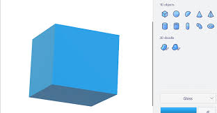 how to rotate and resize objects in paint 3d