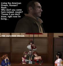 Meme And Niko - niko bellic the japanese dream by jared789 on deviantart