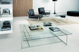 Glass Side Table by Coffee Table All Glass Coffee Tables Wonderful Brown Walnut