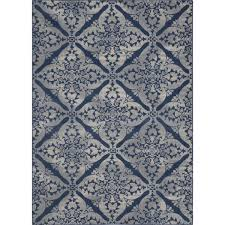 Grey And Blue Area Rugs Andover Mills Anzell Blue Gray Area Rug U0026 Reviews Wayfair