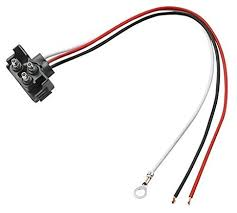 amazon com right angle 3 wire pigtail for sealed trailer stop
