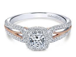 engagement rings 100 two tone split shank engagement ring 100 00345