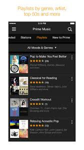 amazon music app amazon music app gets new design ad free prime stations with