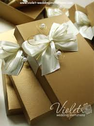 wedding invitations in a box scroll wedding invitation gold and ivory violet handmade
