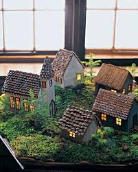 mini lights for christmas village 228 best christmas cottages images on pinterest christmas houses