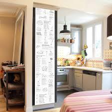 pense bete cuisine pense bête de cuisine deco black board white letters ohmywall