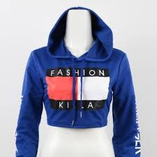 fashion killa u0027 crop hoodie brand new w o tags true to size tops