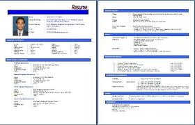 cara membuat resume kerja yang betul contoh resume yang terbaik tire driveeasy co