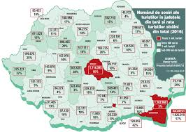 Agartha Map Number Of Tourists And Percentage Of Foreign Tourists By Romanian