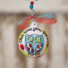 personalized owl christmas ornament christmas ornament