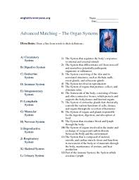best solutions of body systems worksheets high on template