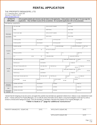 5 rental application form wordreference letters words reference