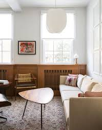 modern mid century compact mid century modern apartment with vintage highlights digsdigs