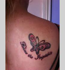 images small butterfly tattoos on shoulder blade