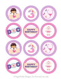 doc mcstuffins cupcake toppers doc mcstuffins cupcake toppers 3rd birthday doc mcstuffins