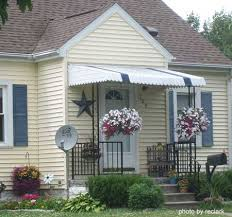 Door Awning Designs Fixed Metal Awnings Best 25 Metal Awning Ideas On Pinterest Front