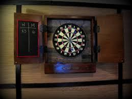 black dart board cabinet dartboard cabinet diy scavenger chic