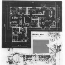 Eichler Plans by Cliff May Floor Plans Cliff May So Cal