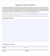 sample eagle scout letter of recommendation 9 download